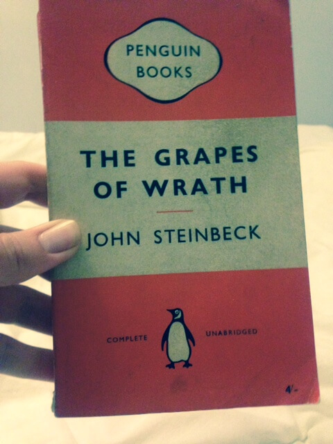 explaining the behavior of joads in john steinbecks the grapes of wrath