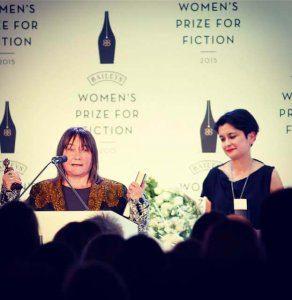 Ali Smith wins the Baileys Prize