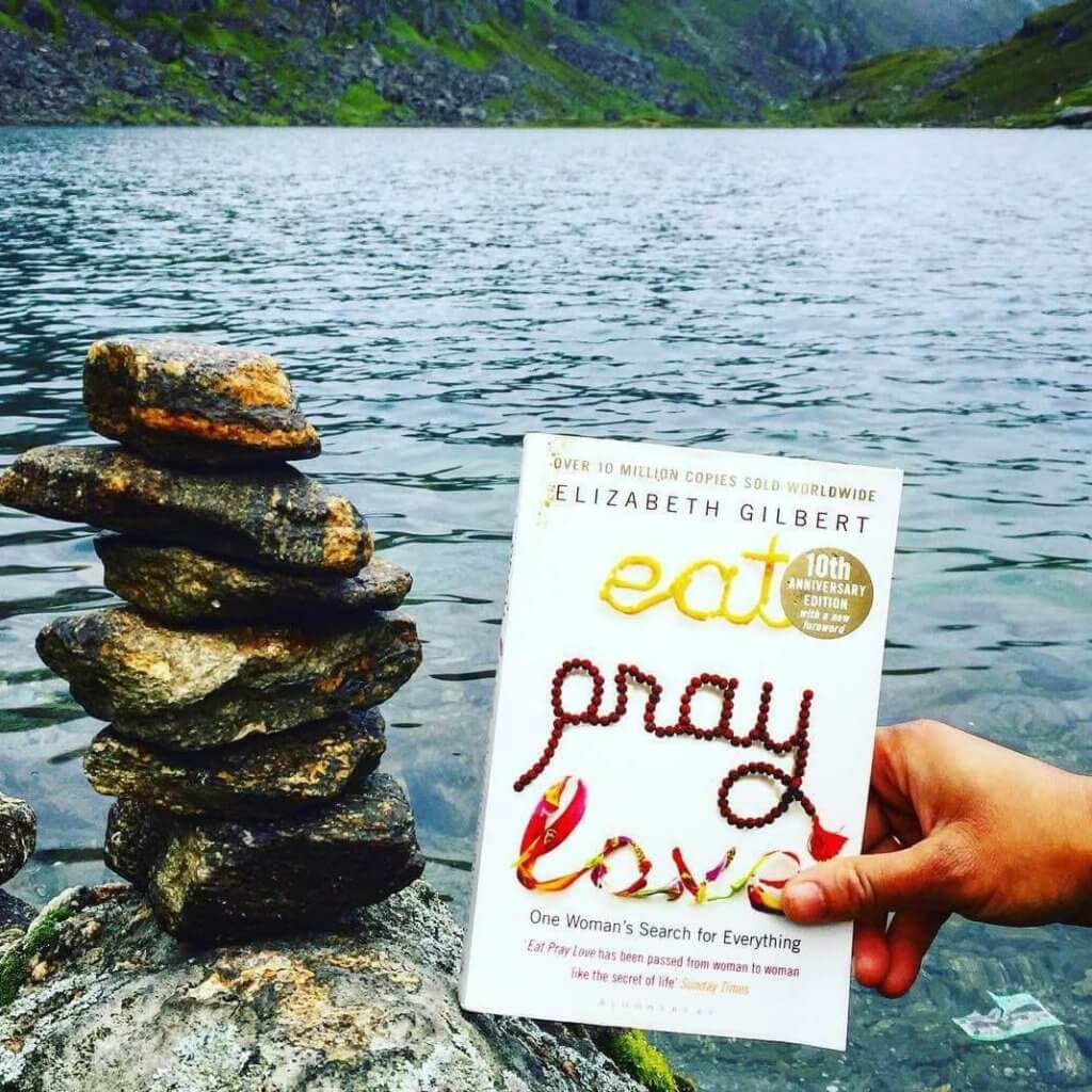 eat pray love literary analysis essay The senior essay is not a  image analysis,  examining the commodification of south asian spirituality through the figure of the guru in eat, pray, love and.