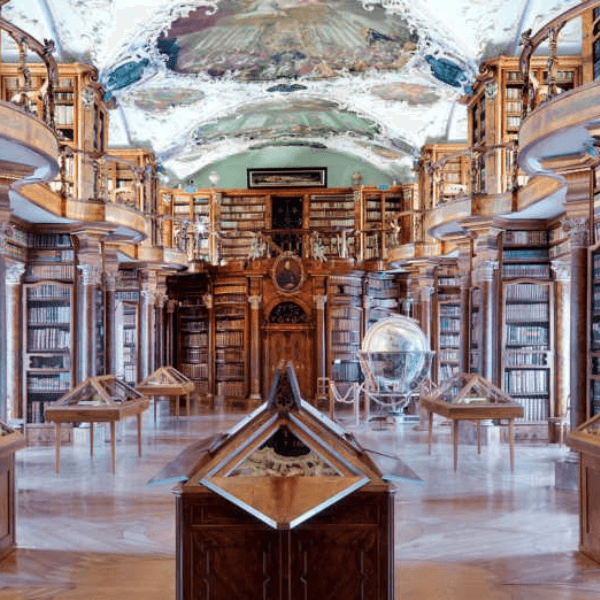 Abbey Library of Saint Gall St Gallen Switzerland